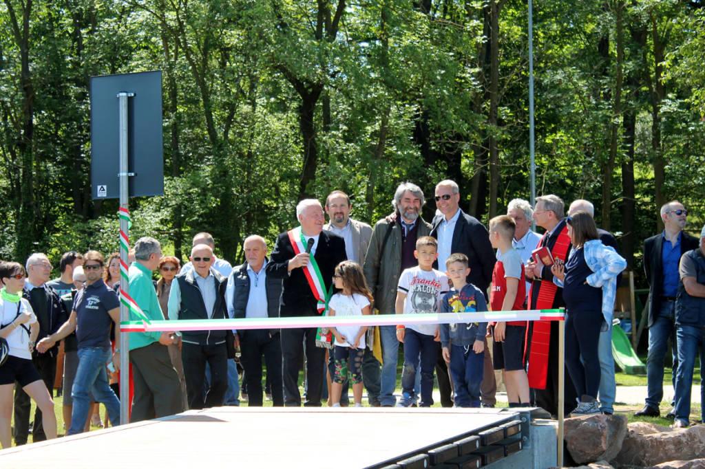 Cazzago Brabbia - Inaugurazione nuovo pontile