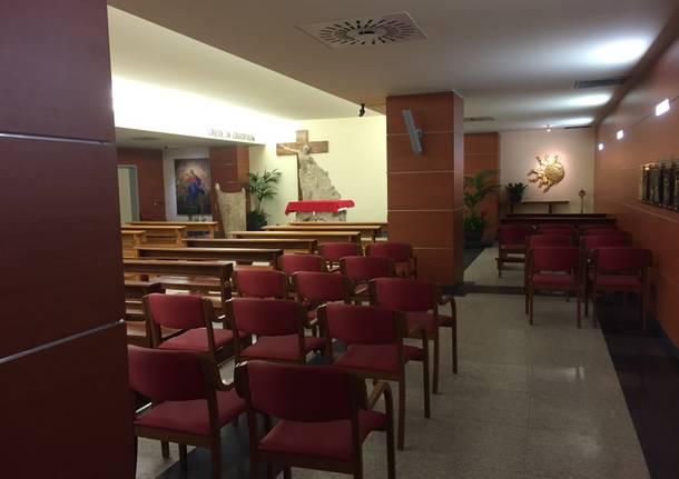 Individuato e denunciato l'uomo che ha appiccato un incendio alla chiesa dell'ospedale di Varese