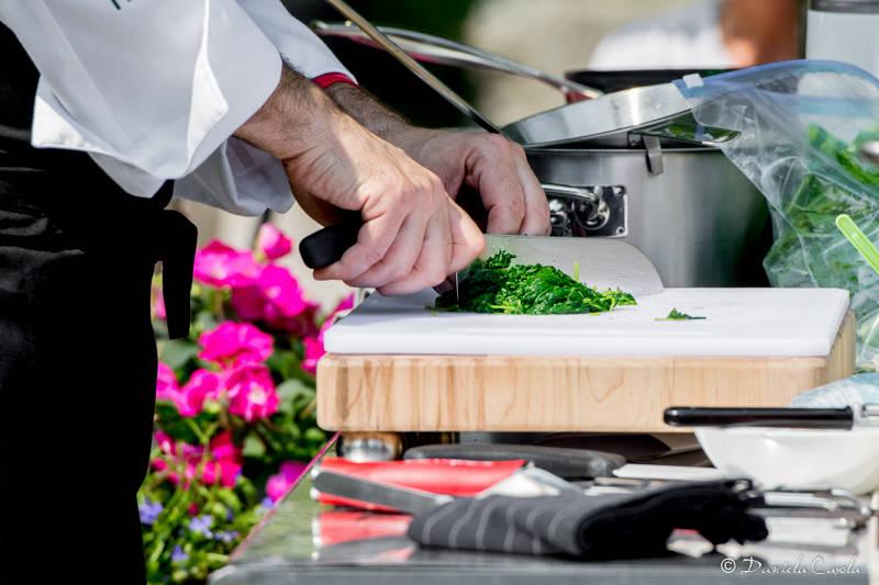 Cittiglio - Lo chef Barzini al Vivaio