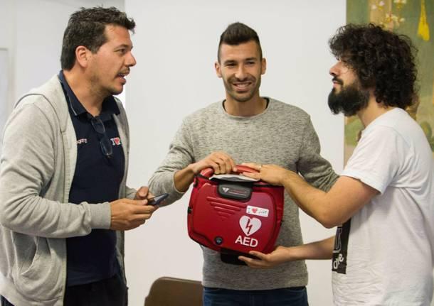 Un defibrillatore per Morosolo