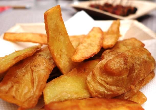 Frittelle di bucce di patata