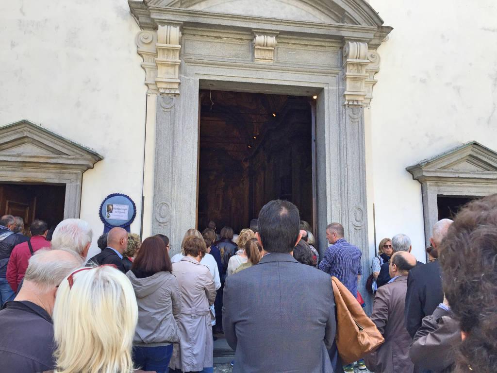 I funerali di Marcellina Pigionatti