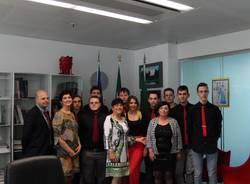 Il gruppo Aurat ricevuto dall'assessore Aprea