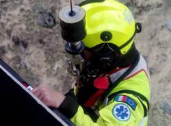 Intervento del reparto volo per soccorso a persone in provincia di Verbania