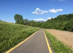 la pista ciclabile cuveglio - rancio valcuvia