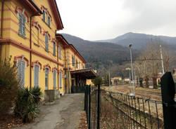 La stazione di Porto Ceresio