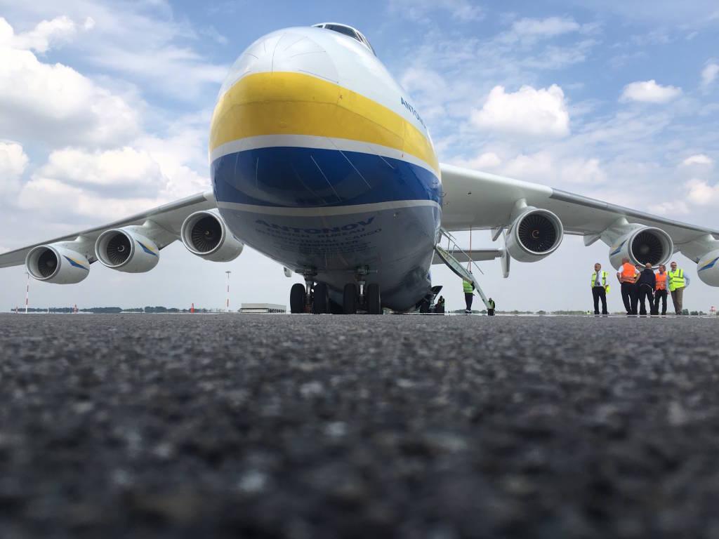 Malpensa - Il ritorno dell'Antonov- foto di Matteo Legnani