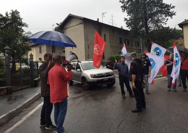Manifestazione dei metalmeccanici, traffico in tilt