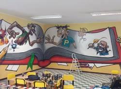 murale Pinocchio Gallarate