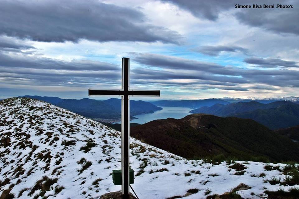 Neve di primavera in alta val Veddasca