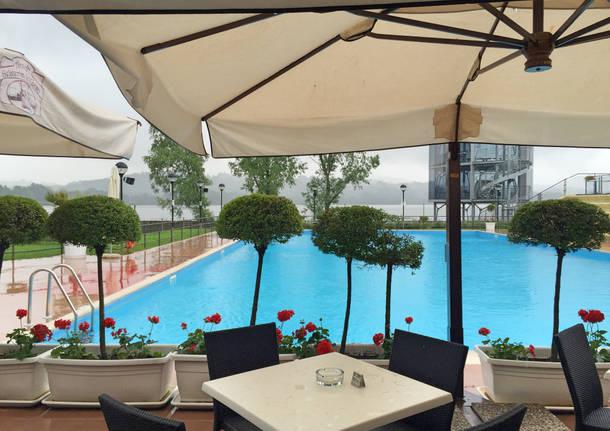 Nuova stagione alla piscina della Schiranna