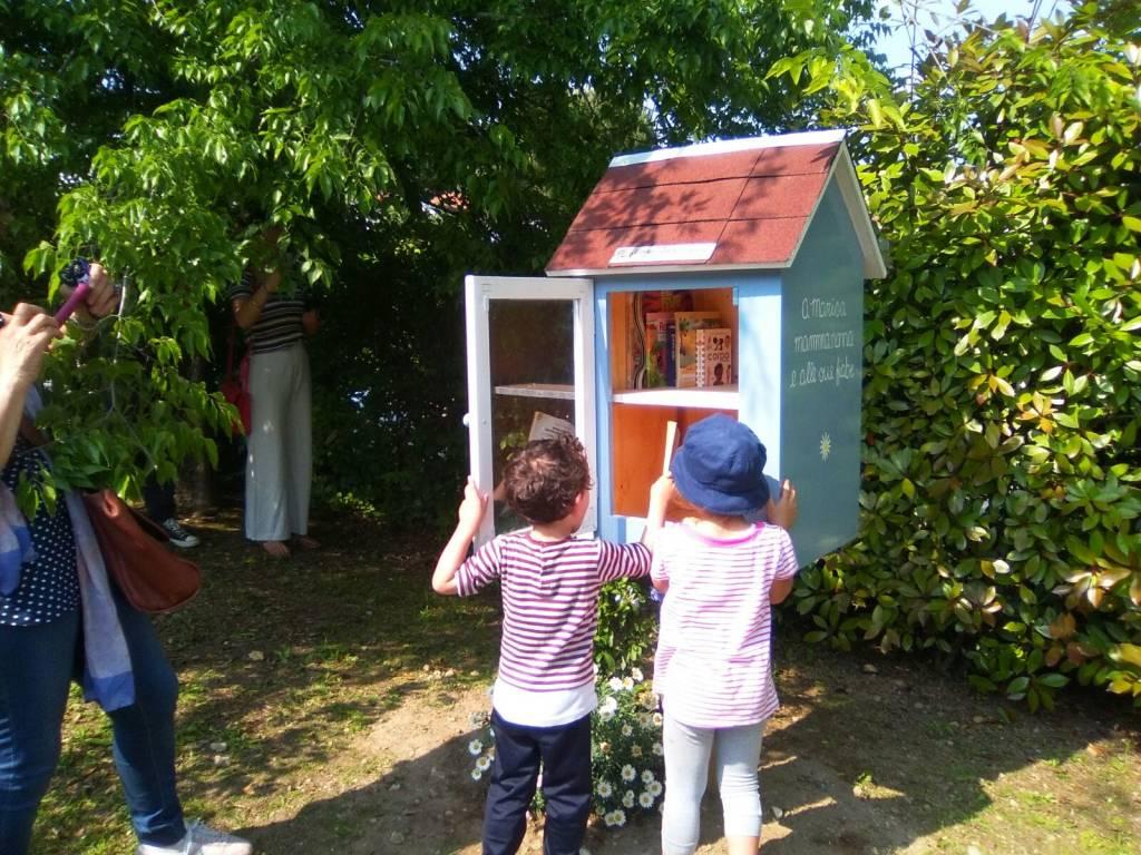 Piccola biblioteca a Casciago