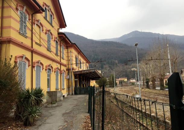 Porto Ceresio: la stazione abbandonata