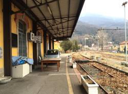 porto ceresio - la stazione abbandonata