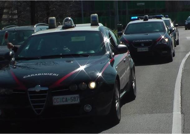 rapina carabinieri