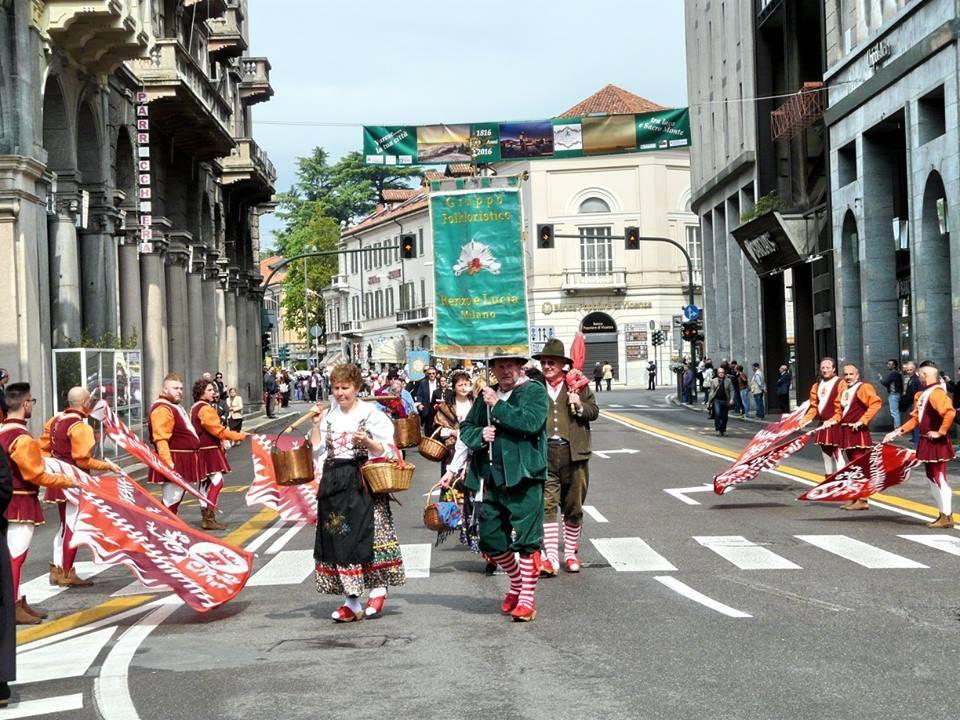 San Vittore, sfilata in centro