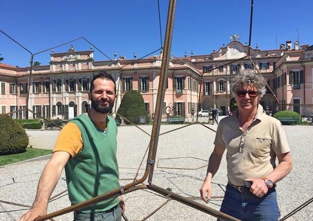 Sandro del Pistoia, arriva l'arte moderna ai giardini Estensi