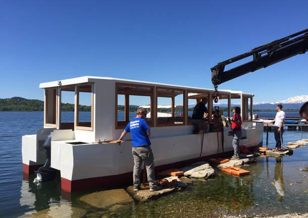 """Arriva """"Stradivari"""", la nuova barca del lago"""