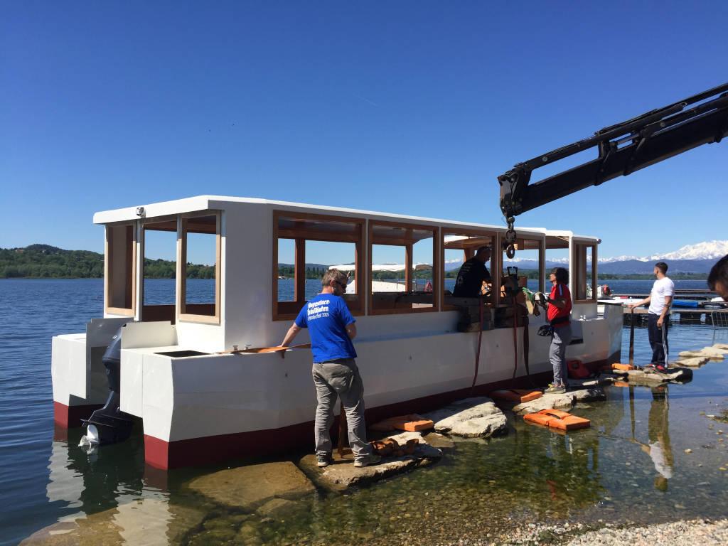 Stradivari la nuova barca del lago