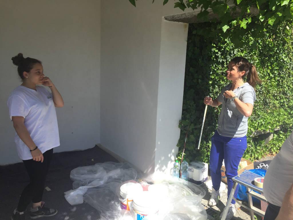 Studenti pittori a Casciago