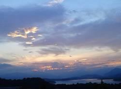 tramonto ad Azzate