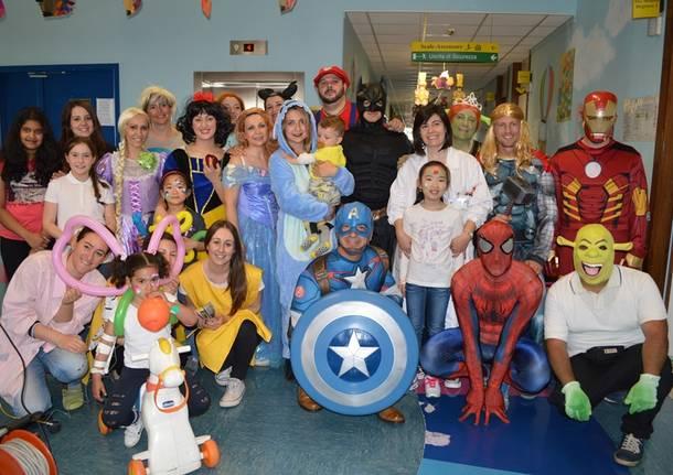Principesse e supereroi all'Ospedale del Ponte