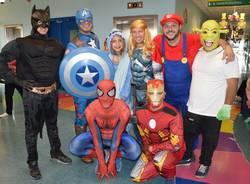 Varese - Principesse e supereroi all'Ospedale del Ponte