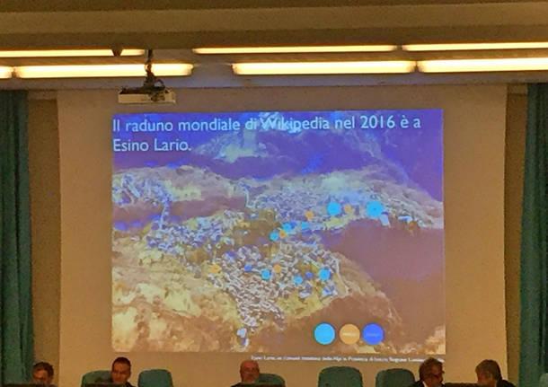 wikimania, il raduno mondiale di wikipedia a esino raccontato all'Insubria