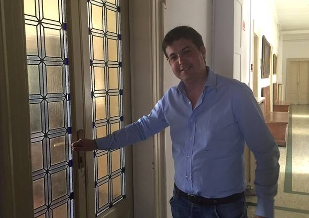 Andrea Cassani sindaco Gallarate