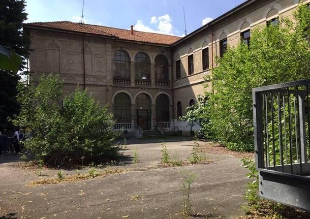 Biblioteca alle vecchie scuole via Bottini Gallarate