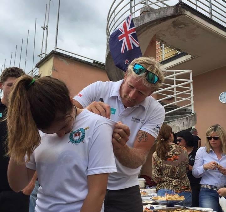 canottaggio nazionale neozelandese rowing new zeland varese
