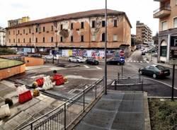 Piazza Repubblica off limits