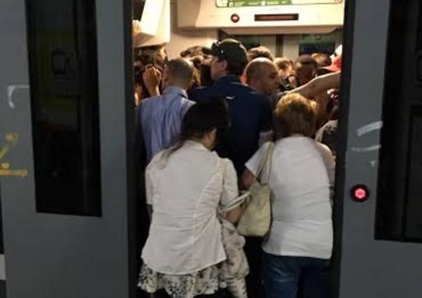 Pieni i treni dopo lo sciopero