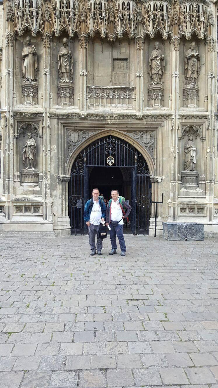 Mario e Silvano da Canterbury a Rom