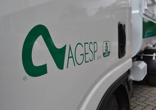 I nuovi mezzi di Agesp