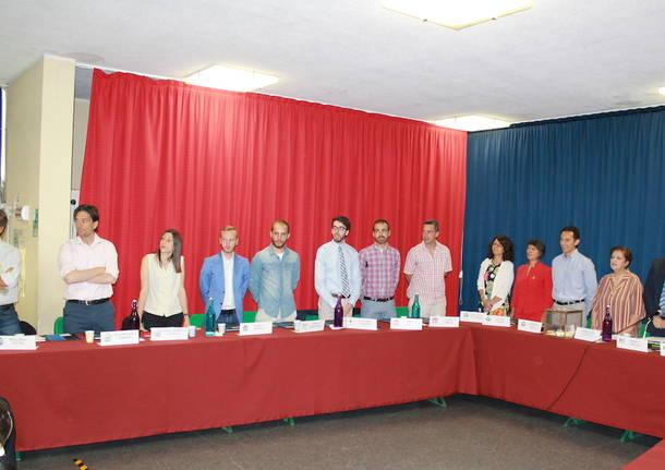 Il Primo consiglio comunale di Malnate