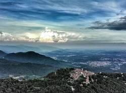 Le nuvole su Varese