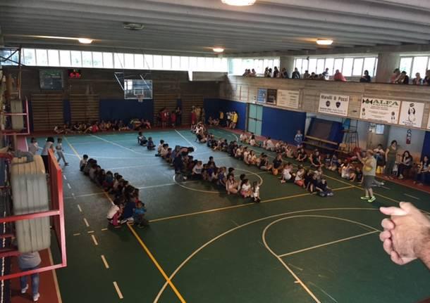 Scuola piena per la festa dello sport