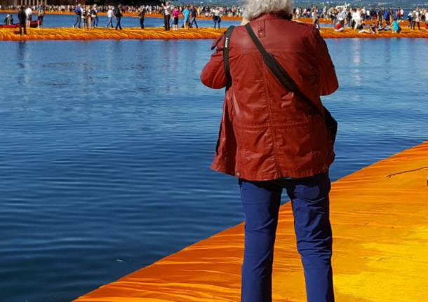 Christo in passerella!