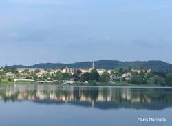 Pista ciclabile lago di Comabbio
