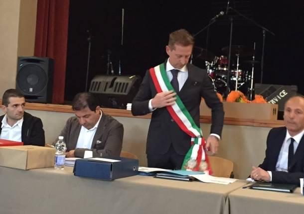 Il primo consiglio comunale di Cocquio Trevisago