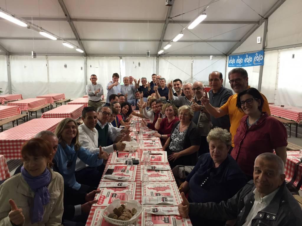 Cena del PD allo Spazio Feste