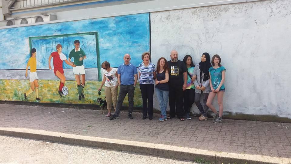 Completato il primo murales di Belforte