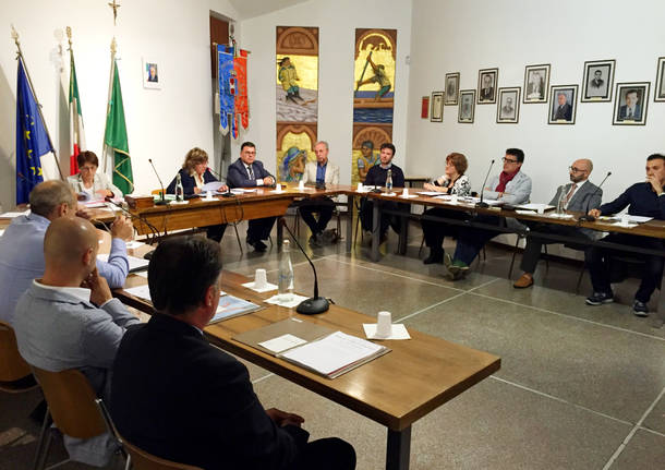 Consiglio comunale Oggiona con santo stefano