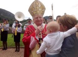 Cuasso al Monte - Visita cardinale Angelo Scola