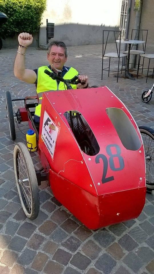 Formula Uno sì, ma a pedali
