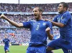 giorgio chiellini nazionale italia spagna calcio europei