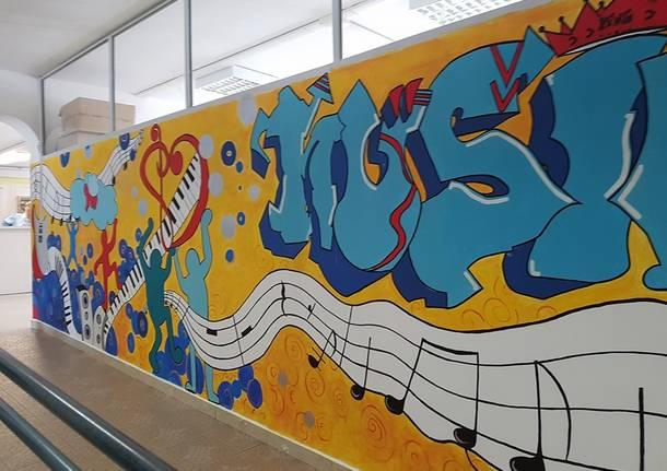 Disegni Murales Per Bambini.Musica E Disegni Per Rendere Piu Bella La Scuola
