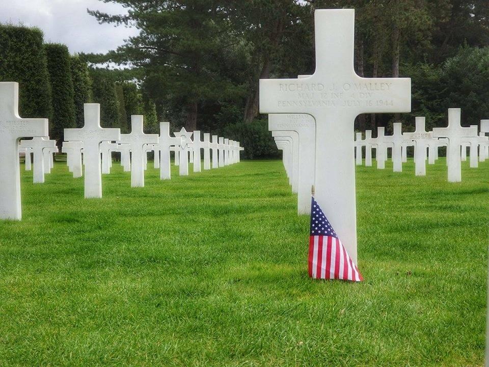 Il cimitero americano di Utah Beach, in Normandia - foto di Elisabetta Vitellozzi