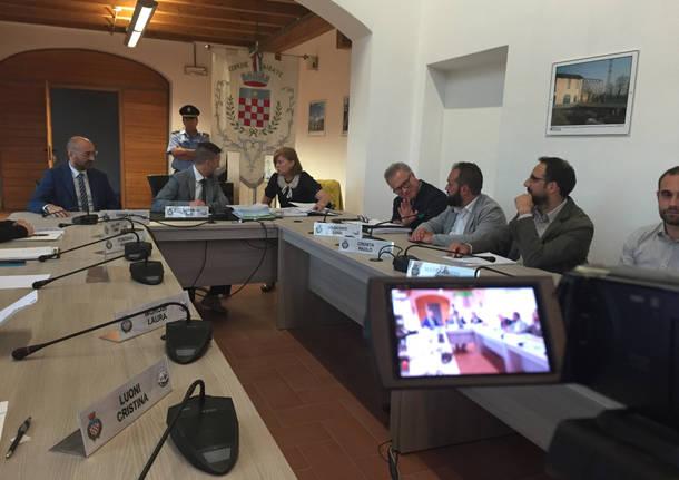 Il nuovo consiglio comunale di Cairate